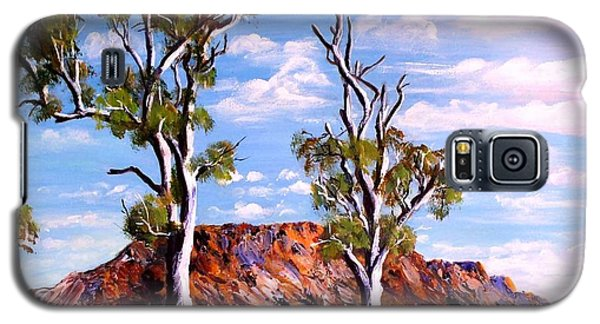 Twin Ghost Gums Of Central Australia Galaxy S5 Case