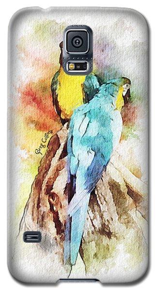 Twin Parrots Galaxy S5 Case