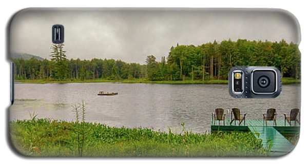 Galaxy S5 Case featuring the photograph Twin Ponds Landscape by David Patterson
