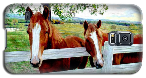 Twin Ponies Galaxy S5 Case