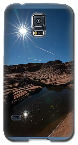 Twin Stars Reflection Galaxy S5 Case