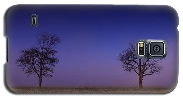 Twin Trees In The Mississippi Delta Galaxy S5 Case