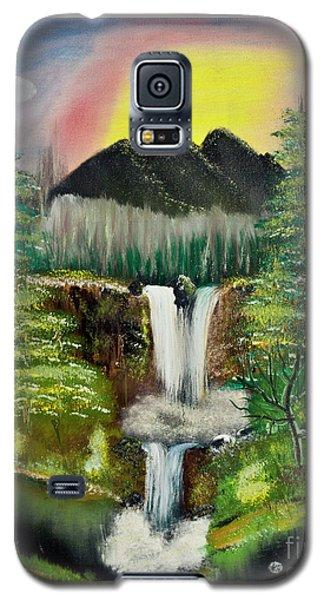 Twin Waterfalls Galaxy S5 Case