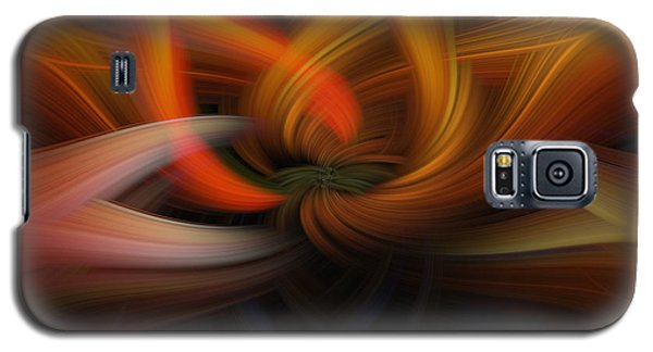 Galaxy S5 Case featuring the photograph Twirl Abstract by Skip Tribby