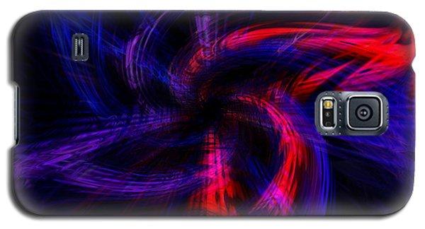 Twirled Star Galaxy S5 Case by Cherie Duran