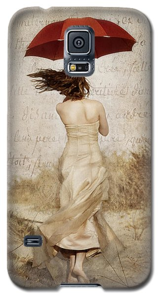 Twirling Painted Lady Galaxy S5 Case