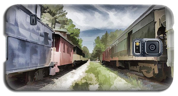 Twixt The Trains Galaxy S5 Case