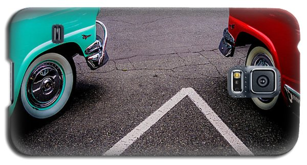 Galaxy S5 Case featuring the photograph Two 1958 Ford Crown Victorias by M G Whittingham