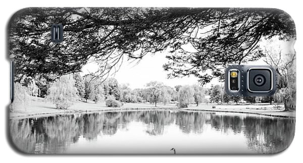 Galaxy S5 Case featuring the photograph Two At The Pond by Karol Livote