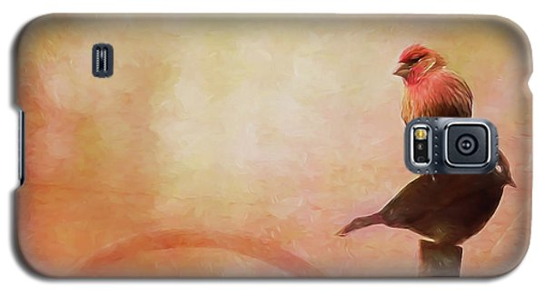 Two Birds In The Mist Galaxy S5 Case by Bellesouth Studio