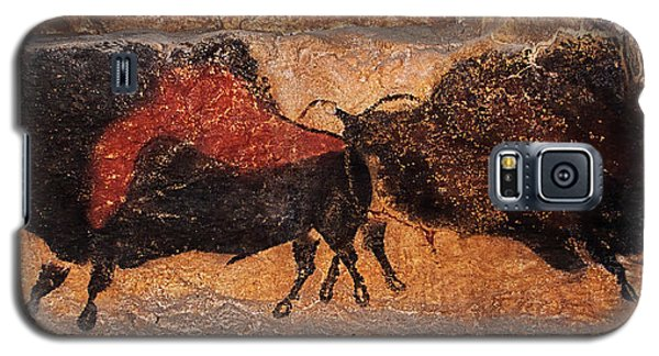 Two Bisons Running Galaxy S5 Case