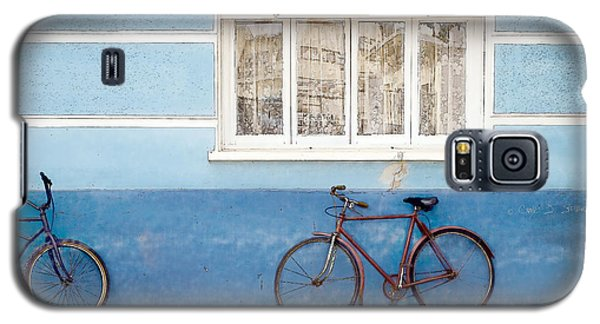 Two Blue Bikes Galaxy S5 Case