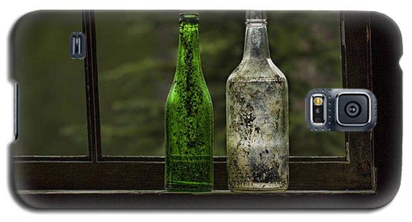 Two Bottles In Window Galaxy S5 Case