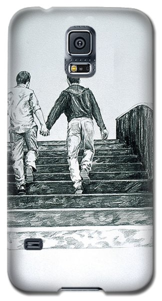 Two Boys Galaxy S5 Case