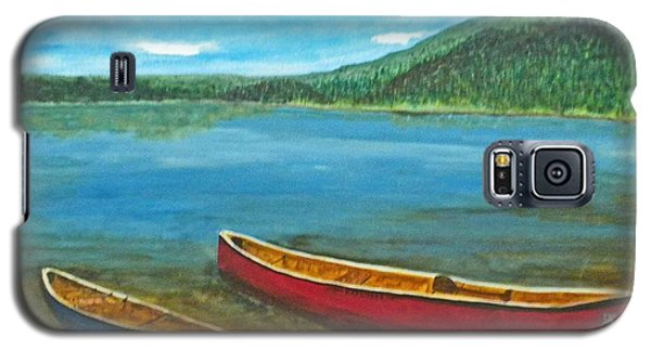 Two Canoes Galaxy S5 Case