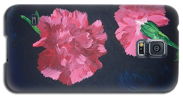 Two Carnations Galaxy S5 Case
