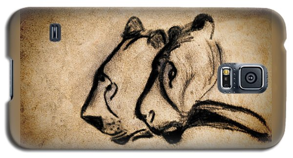 Two Chauvet Cave Lions Galaxy S5 Case