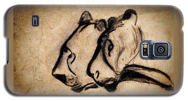 Two Chauvet Cave Lions Galaxy S5 Case