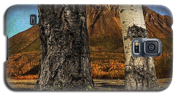 Two Cottonwood Trees And Kinnikinnik Galaxy S5 Case