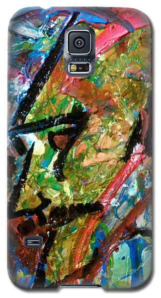 Two Dimenssional Head Galaxy S5 Case