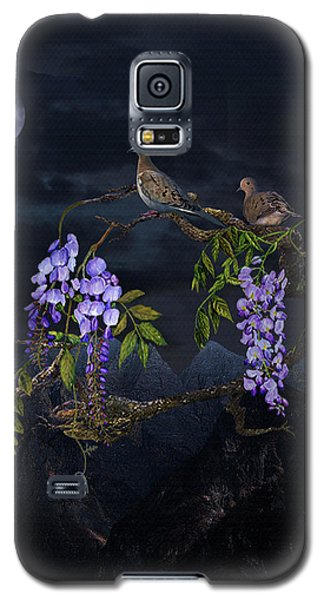 Mourning Doves In Moonlight Galaxy S5 Case