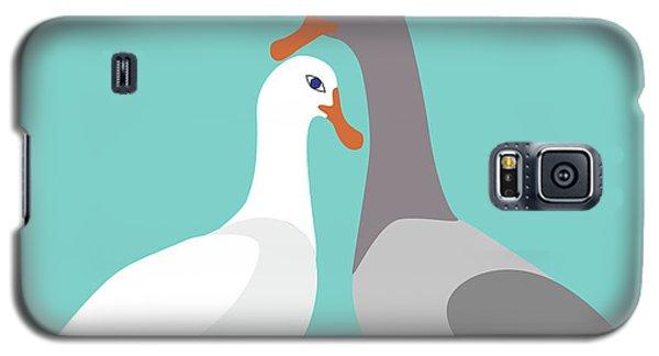 Two Ducks In Love Galaxy S5 Case