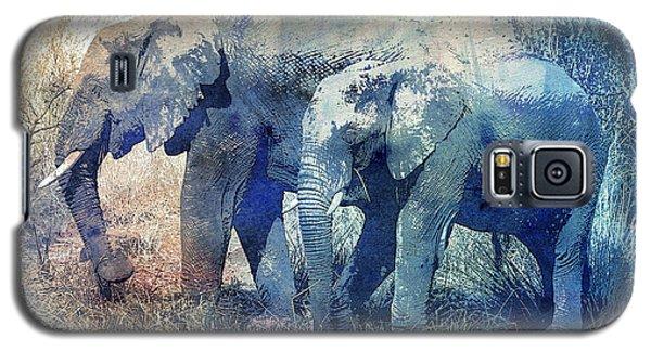 Two Elephants Galaxy S5 Case