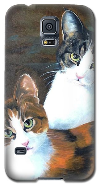 Two Friends Galaxy S5 Case by Diane Daigle
