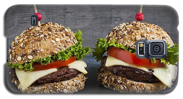 Two Gourmet Hamburgers Galaxy S5 Case by Elena Elisseeva