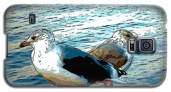 Two Gulls Galaxy S5 Case by Ann Tracy