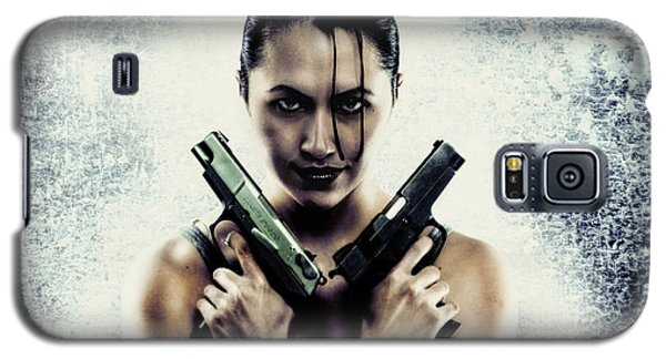 Lara Croft Galaxy S5 Case