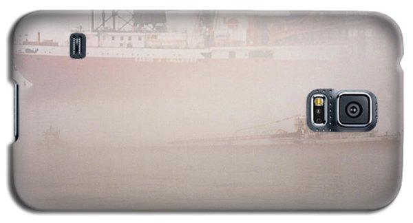 Two Harbors Fog Ship II Galaxy S5 Case