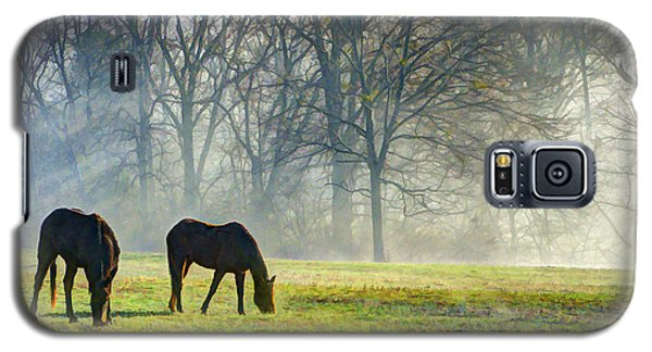 Two Horse Morning Galaxy S5 Case
