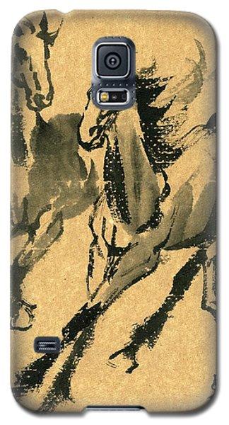 Good Buddies Galaxy S5 Case by Ping Yan