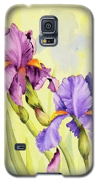 Two Irises  Galaxy S5 Case