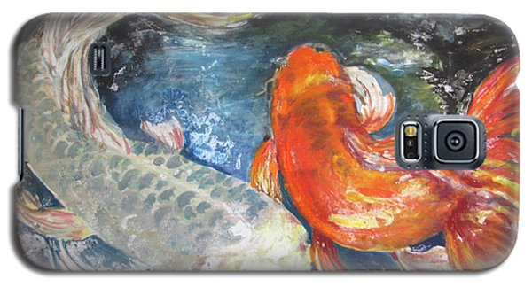 Two Koi Galaxy S5 Case by Susan Herbst