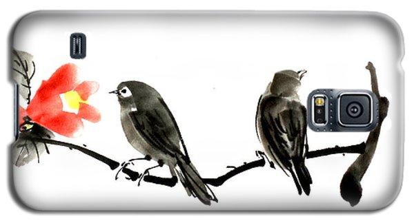 Two Little Birds Galaxy S5 Case