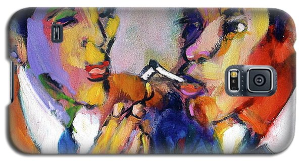 Two Men On A Match Galaxy S5 Case