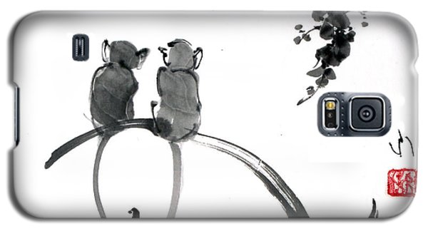 Two Monkeys Galaxy S5 Case