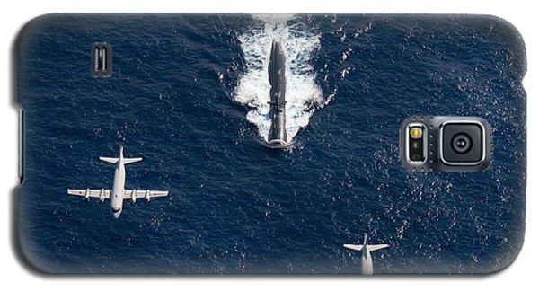 Two P-3 Orion Maritime Surveillance Galaxy S5 Case