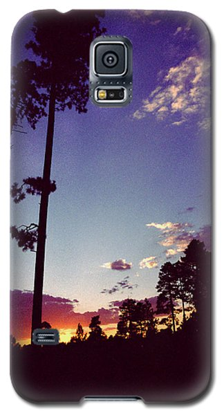 Two Pines Sunset Galaxy S5 Case