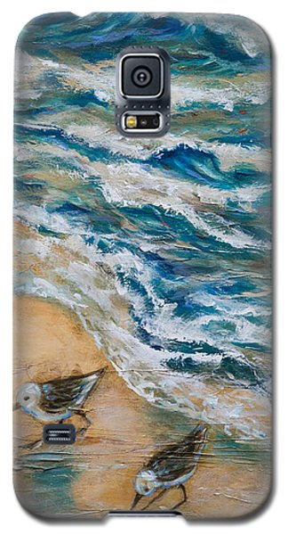 Two Pipers Along Shore Galaxy S5 Case
