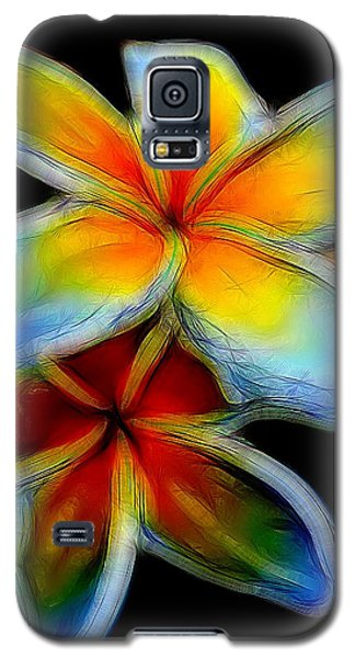 Two Plumerias Galaxy S5 Case
