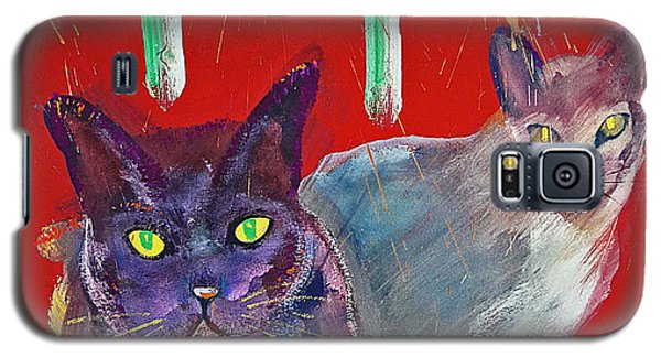 Two Posh Cats Galaxy S5 Case