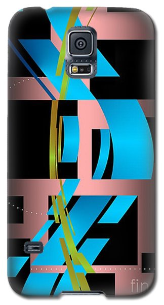 Galaxy S5 Case featuring the digital art Two Possibilities by Leo Symon