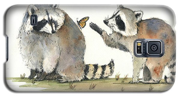 Two Raccoons Galaxy S5 Case