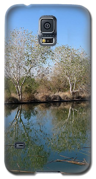 Galaxy S5 Case featuring the photograph Two Reflected by Laurel Powell