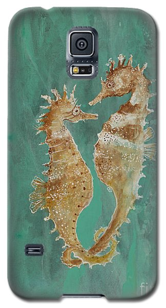 Two Seahorse Lovers Galaxy S5 Case