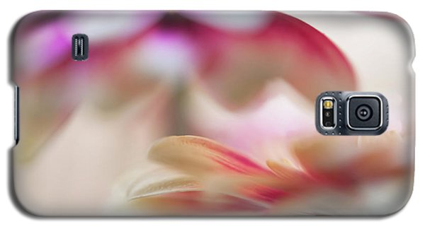 Galaxy S5 Case featuring the photograph Two Souls 1. Macro Gerbera by Jenny Rainbow