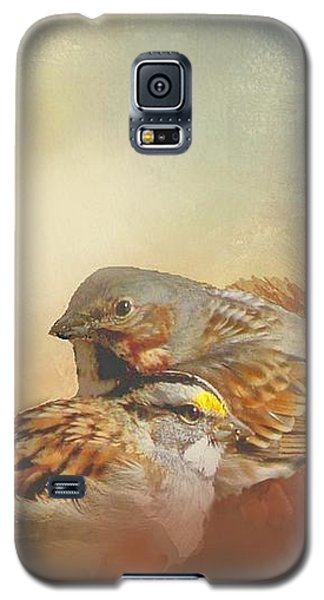 Sparrows In The Marsh 2 Galaxy S5 Case by Janette Boyd
